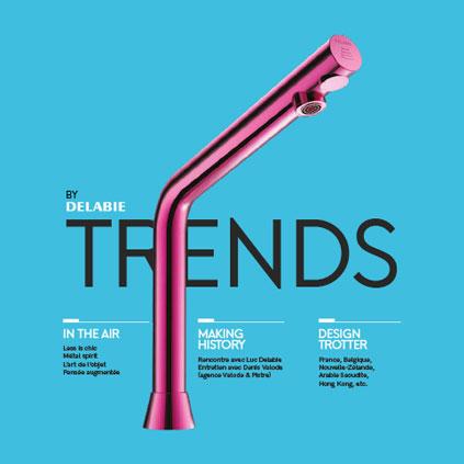 Descubra a primeira edição da nossa nova revista Design « Trends by DELABIE » dedicada a arquitetos e arquitetos de interiores, mas também a todos...