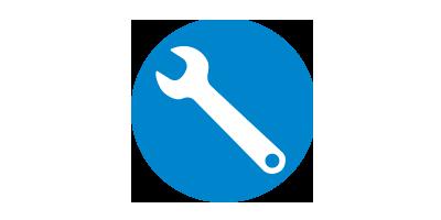 Instalação e manutenção facilitadas
