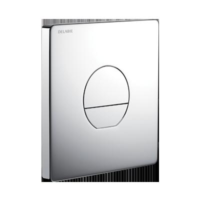 Torneira de descarga direta encastrada TEMPOFLUX 3 AB - placa em metal cromado