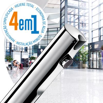 T4 sem contacto - Misturadoras e torneiras eletrónicas de lavatório