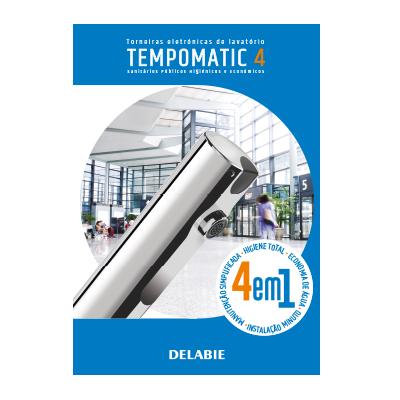 Torneiras eletrónicas de lavatório TEMPOMATIC 4