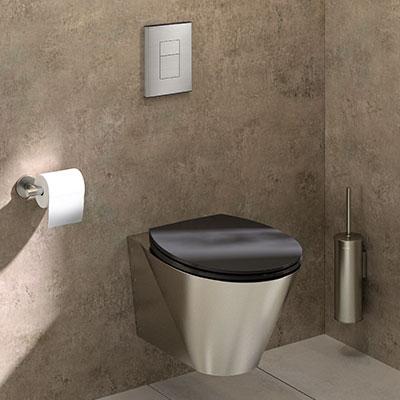 Das latrinas à montra