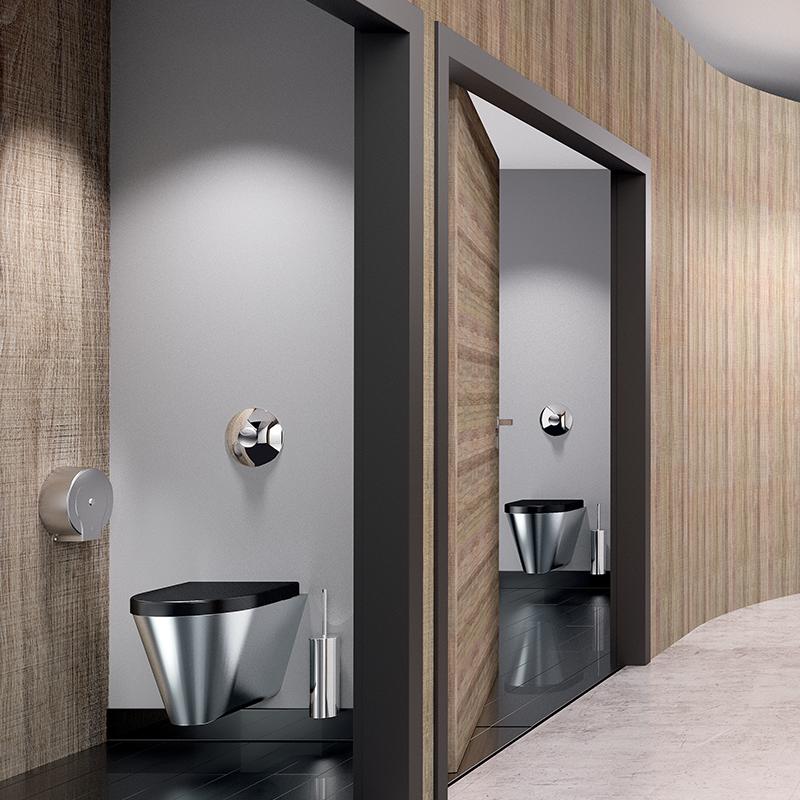 Renovados em média a cada 15 a 20 anos, os espaços sanitários dos locais públicos não têm uma tendência significativa em apelar ao design. Embora l...