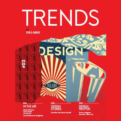 Trends by DELABIE - a revista das tendências design nos sanitários