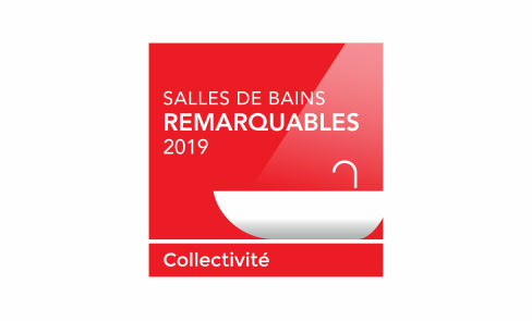 Premiado no «Salles de Bains Remarcables 2019» - Categoria Coletividades