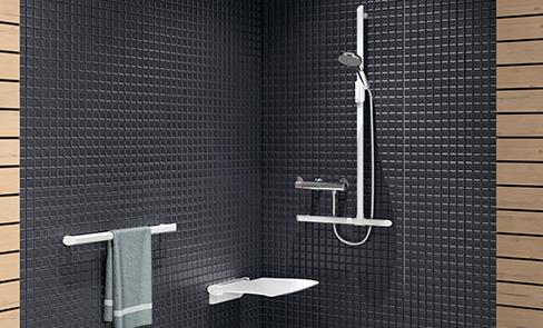 Como escolher um banco de duche para deficientes, idosos, PMR