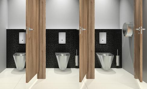 Sistema de descarga direta para sanita, a revolução do WC público
